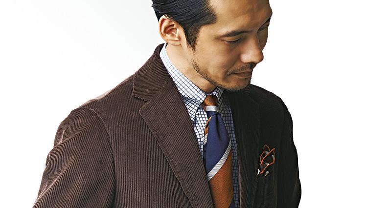 「旬のコーデュロイスーツ」着こなし実例をビームス中村さんが伝授!
