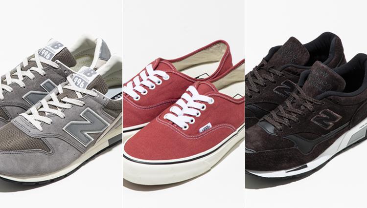 今売れてるスニーカー、セレクトショップ各店の「ベスト3」はどのブランド?