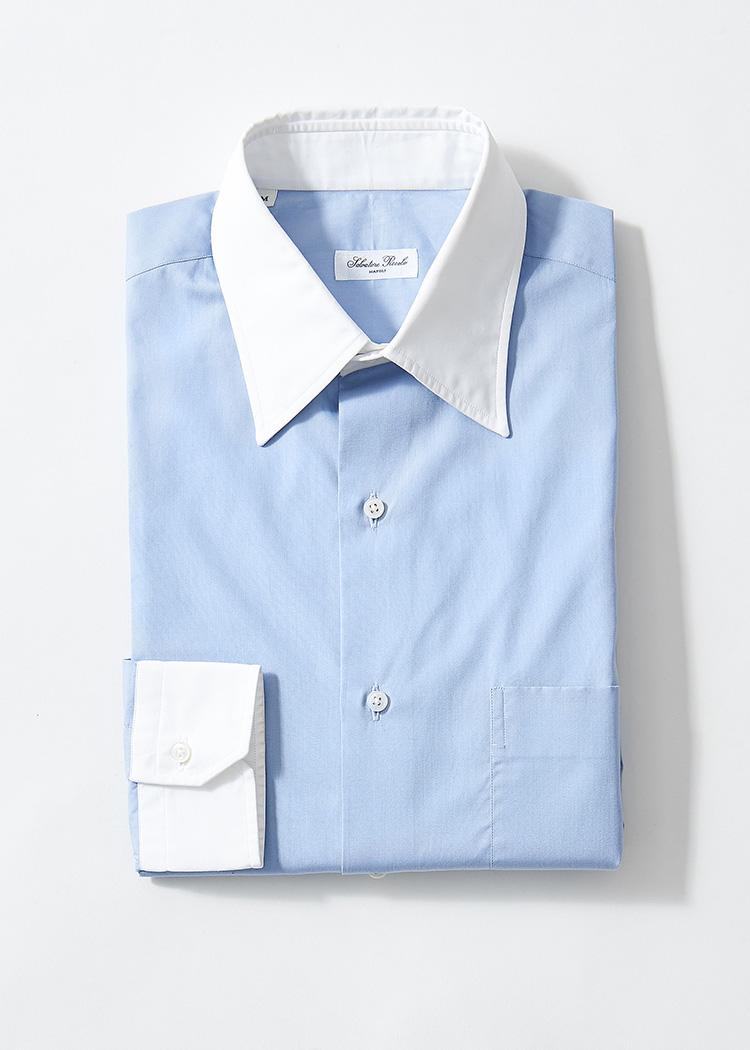 <p><strong>7.サルヴァトーレ ピッコロのクレリックシャツ</strong><br /> 英国クラシックがトレンドの中、単体でそのムードを演出できるホワイトカラーは打ってつけ。それでいて、着心地はナポリらしい柔らかさを備える。2万5000円(トゥモローランド TEL:0120-983-522)</p>