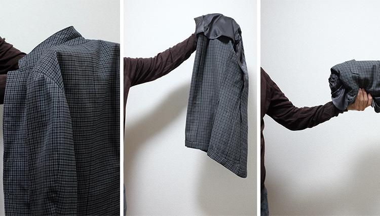 シワを防ぐ「ジャケットの正しい畳み方」を知っている?