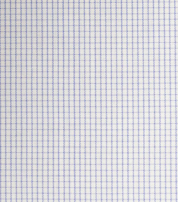 <p><strong>【柄】○○○チェック</strong><br />方眼紙のように、細い線を格子状に配したチェック柄。通常、格子の色は1色。こちらのように細かいものから、かなり大きなものまである。シャツの定番柄。</p>