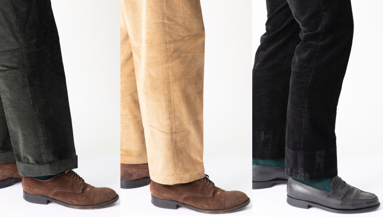 「カジュアルパンツの裾」仕上げ方で印象はどう変わる?