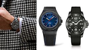 オールブラックの時計5選。モノトーンのコーデで大人っぽくつけたい