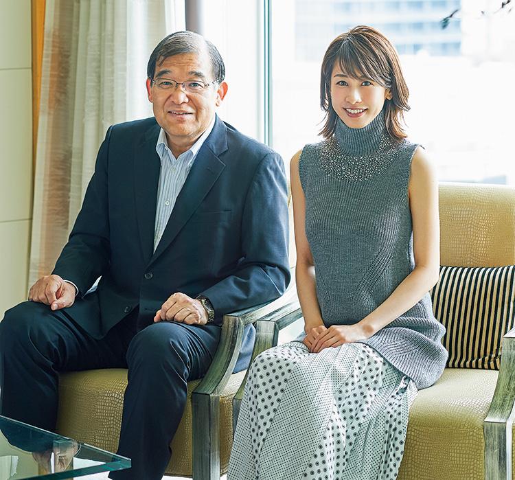 加藤 綾子さん、唐池恒二さん