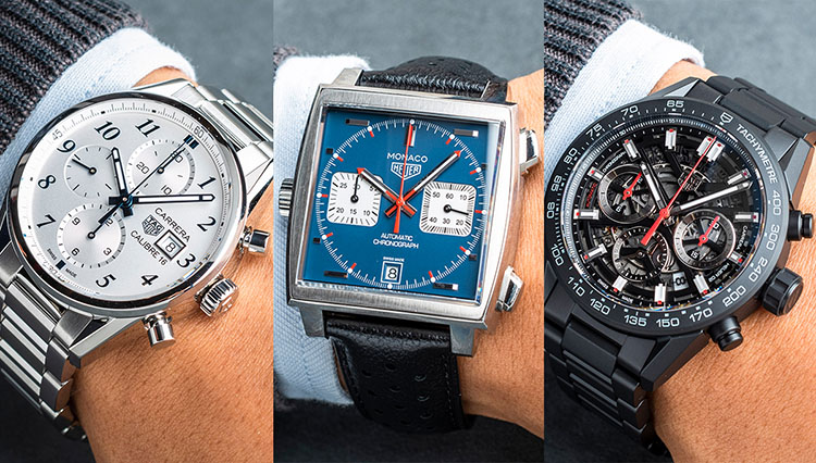 休日も使える高級時計、どう選ぶ? タグ・ホイヤーの人気モデル10本で徹底比較!