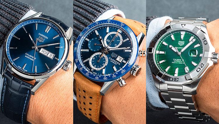 休日も使える高級時計、どう選ぶ? タグ・ホイヤーの人気モデルで比較した