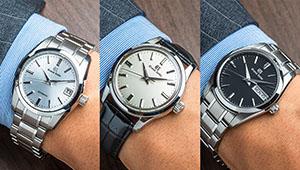 仕事の腕時計は「38ミリ以下のグランドセイコーが最強説」を人気13モデルで一挙検証!