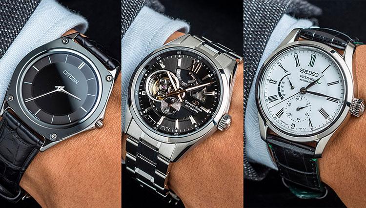 ジャパンブランドの腕時計、銀座の有名店で今売れている5本を腕に乗せて比較!