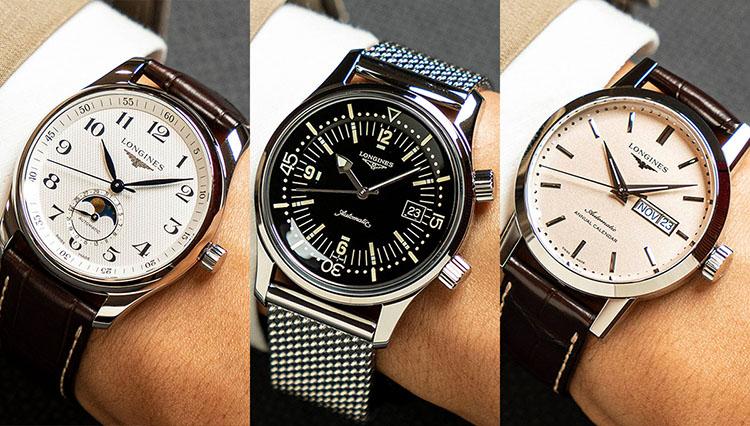 「仕事用の腕時計、どうしてる?」ロンジンの有力候補11本を腕に乗せて比べた