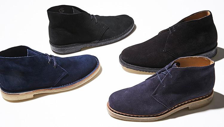 「お手軽できちんと見える」大人の休日靴、クレープソールブーツ4選