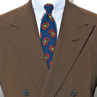 難しそうなブラウンスーツ、色合わせのコツは?【1分で出来るスーツのお洒落】