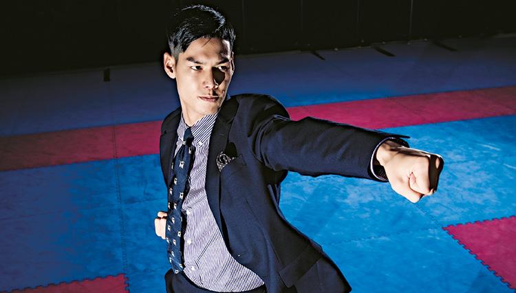 """空手 組手・西村 拳選手インタビュー【""""闘う男の服""""を纏う、2020闘う男】"""