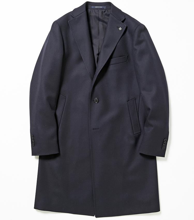 <p><strong>14.タリアトーレのチェスターコート</strong></p> <p>丈夫でハリのあるツイル生地を使用したネイビーのチェスターコートは、カッチリした印象がビジネスコートにうってつけ。長めに設定した着丈や裾に向かって適度に広がるAラインで、今年らしい味付けもなされている。10万5000円(伊勢丹新宿店)</p>