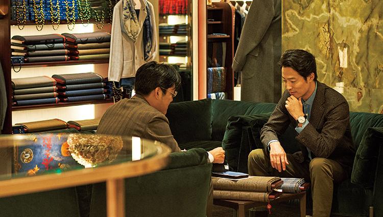 日本橋三越 本店の「パーソナルオーダーサロン」は紳士のオーダーの楽園だ!