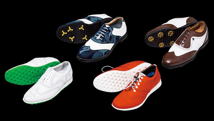 ラウンド時の足元を格上げする「ウイングチップのゴルフ靴」4選