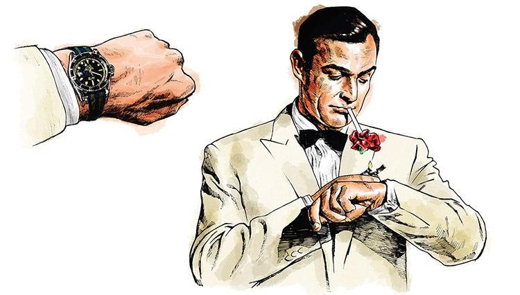 ジェームズ・ボンド、マイルス・デイビス、「型破り」な腕時計のエピソードとは?