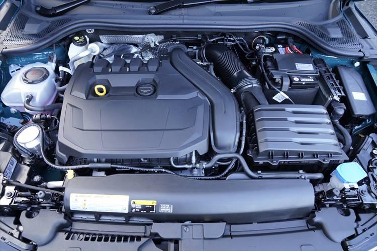 新型アウディA1のエンジン