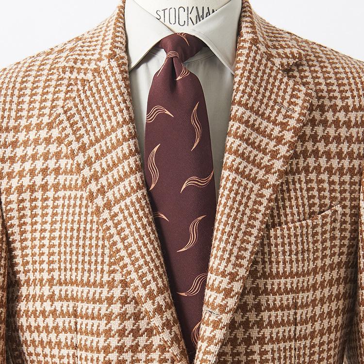 茶ジャケットに相性が良い色合わせは?【1分で出来るスーツのお洒落】