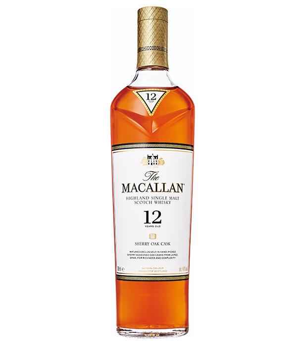 <p><strong>【2・スペイサイド】ザ・マッカラン12年<br /> 産地の特徴:バランスのとれた飲みやすい味わい</strong></p> <p>スペイ川の良質な水源のもとで生まれるウイスキーは、マイルドで口当たりのよいものが多い。中でもザ・マッカランは大定番。シェリー樽の華やかな香りと上品な味わいが特徴的だ。7000円(サントリーお客様センター)</p>