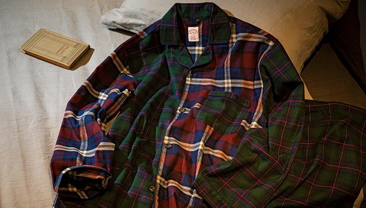 「ブルックス ブラザーズ」の隠れ定番、コットンフランネルのパジャマを知っている?