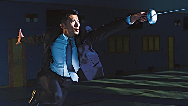 """フェンシング エペ 見延和靖選手インタビュー【""""闘う男の服""""を纏う、2020闘う男】"""