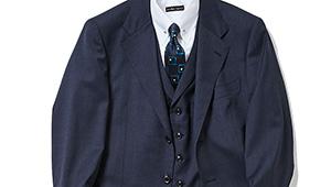 """ミドルエイジの""""基本の紺スーツ""""といえば?"""