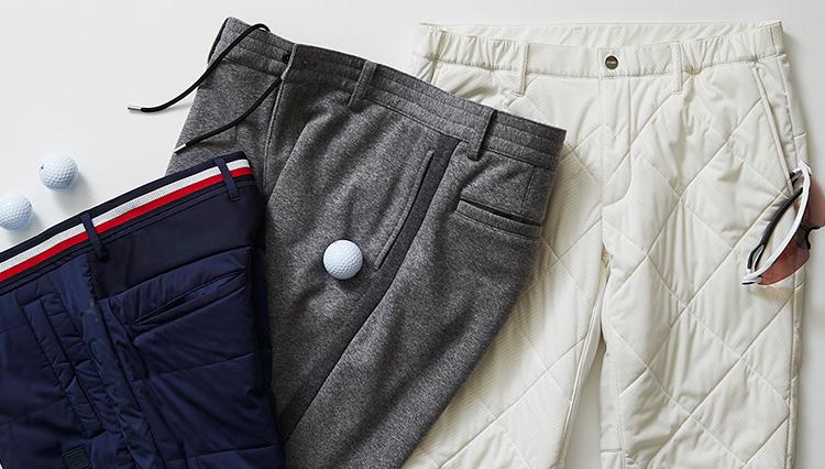 大人の冬ゴルフパンツは「保温+美脚+伸縮」がカギ