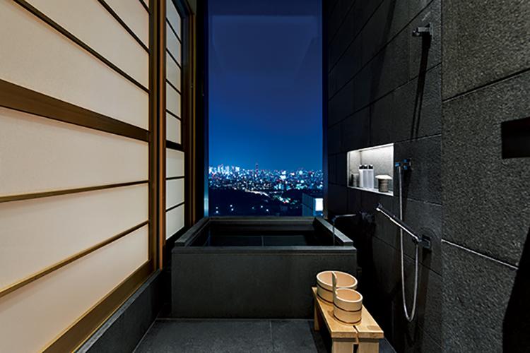 アマン東京のお風呂