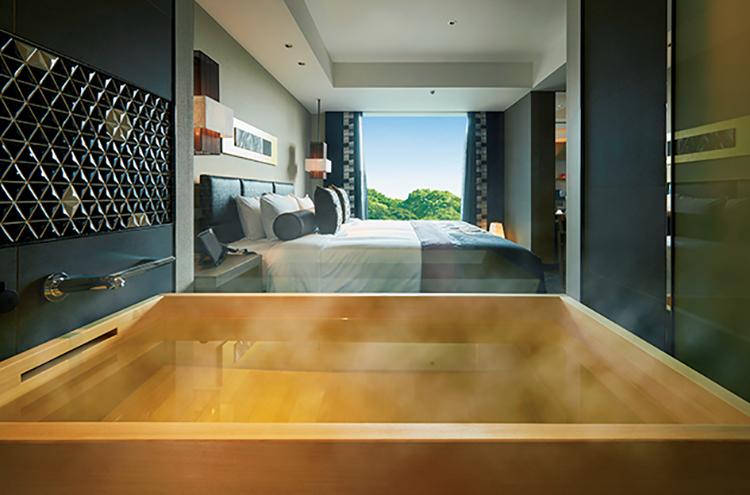 「新江戸ルーム」は全室檜風呂