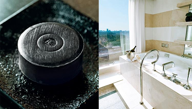 ホテルニューオータニの特別なお風呂