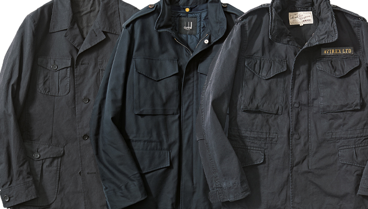 休日スタイルがコンサバにキマる!「黒の4ポケアウター」6選