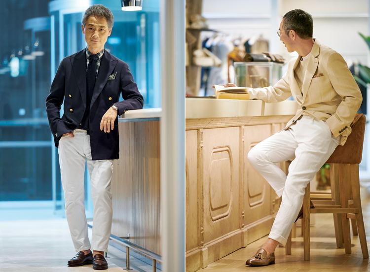 男の基本服となった「純白パンツ」その現在地とは?