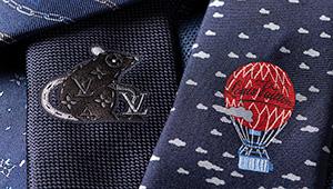 ルイ・ヴィトンで発見!「いつものスーツに差がつく紺ネクタイ」5選