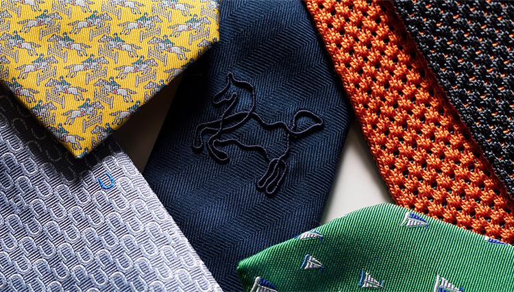 エルメスで探す「最高に趣味がいいネクタイ」5選