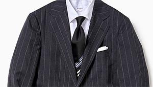 いつものスーツがお洒落に変身、ネクタイの新常識「パネルタイ」って!?