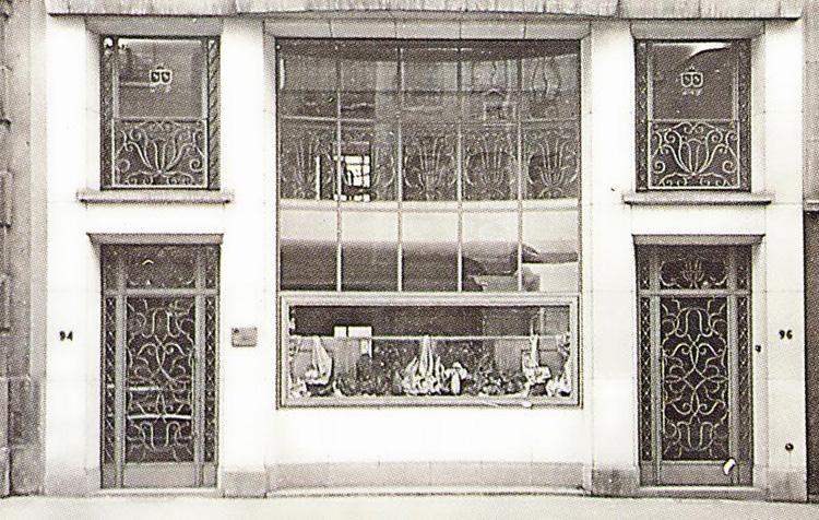 <p><strong>1946年</strong></p> <p>第二次世界大戦の直前にエリック・ブリューワー氏が避難した本社。</p>