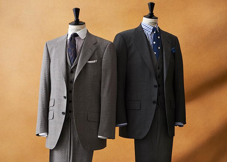 麻布テーラーのスーツ