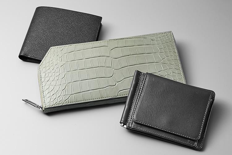 2020グレー財布