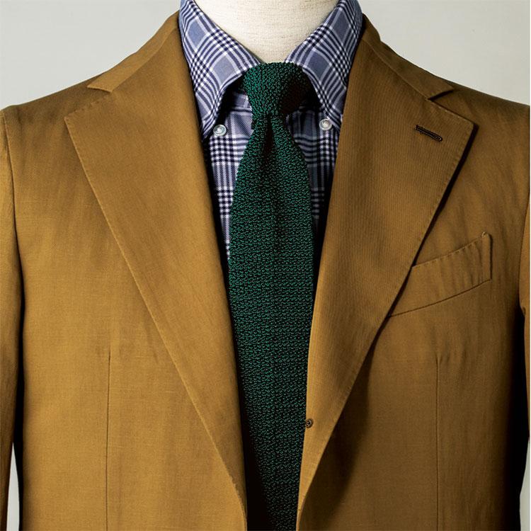 「春のリネンスーツ」には、どんなネクタイが似合う?【1分で出来るスーツのお洒落】