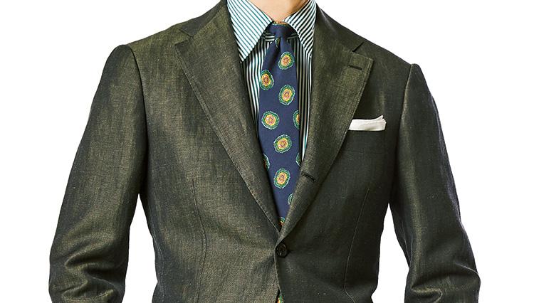 「グリーンのスーツ&ジャケット」ビームス中村さんがこの春着たいスタイルは?