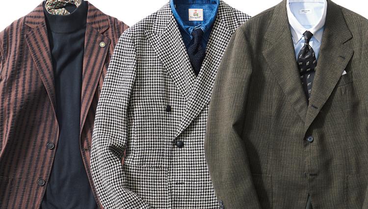 TPO別「ビジネスマンが持つべきジャケット」はこの3種!