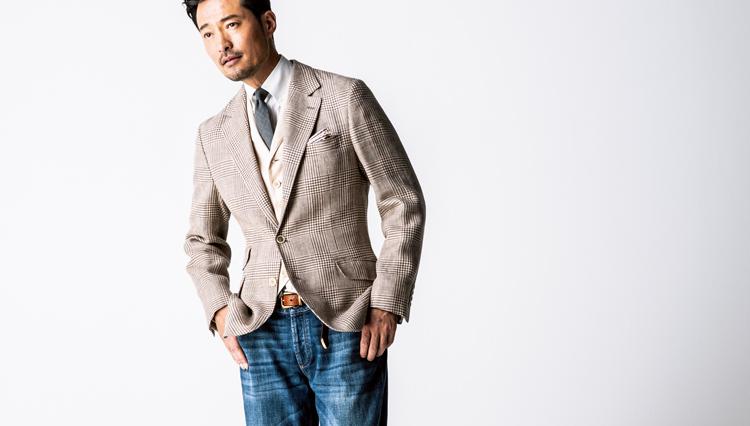 40代メンズに似合う「週末デニム&ジャケット」は、こんな色!