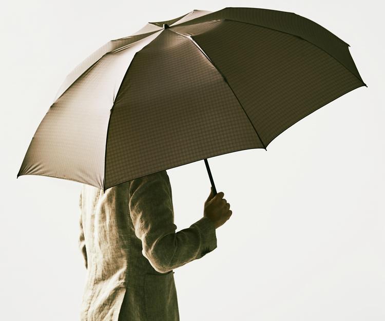 和光の二つ折り雨傘