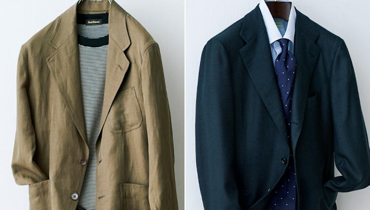 「仕事ジャケット」「休日ジャケット」大人メンズに必要なのはこの2着
