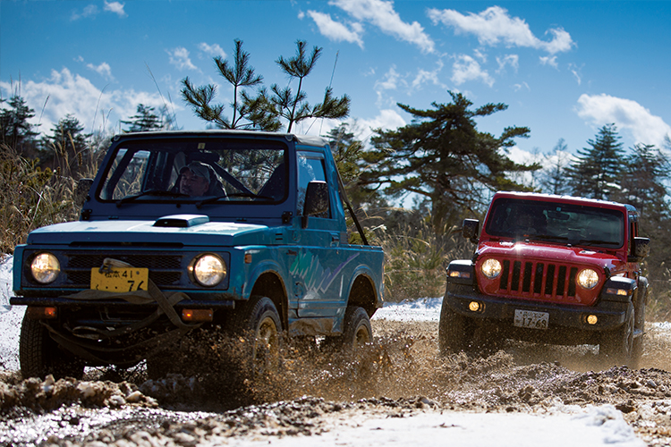 JEEP WRANGLER × Off Road