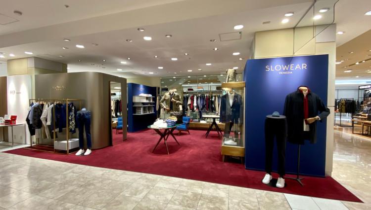「スローウエア ベネツィア」新店舗が福岡岩田屋にオープン
