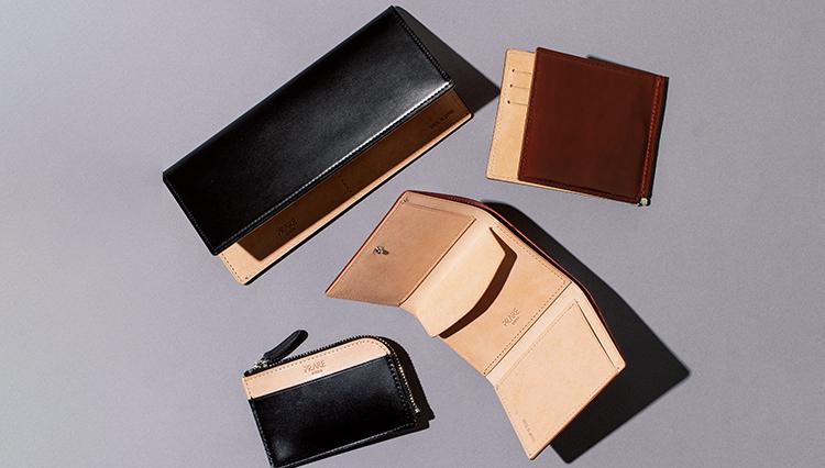 薄マチでコンパクトな財布。コードバン製だと高級感たっぷり!【名作予報】