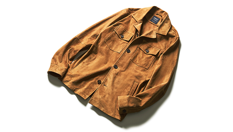ビームス流「エンメティのスエードシャツブルゾン」春の着こなし6選