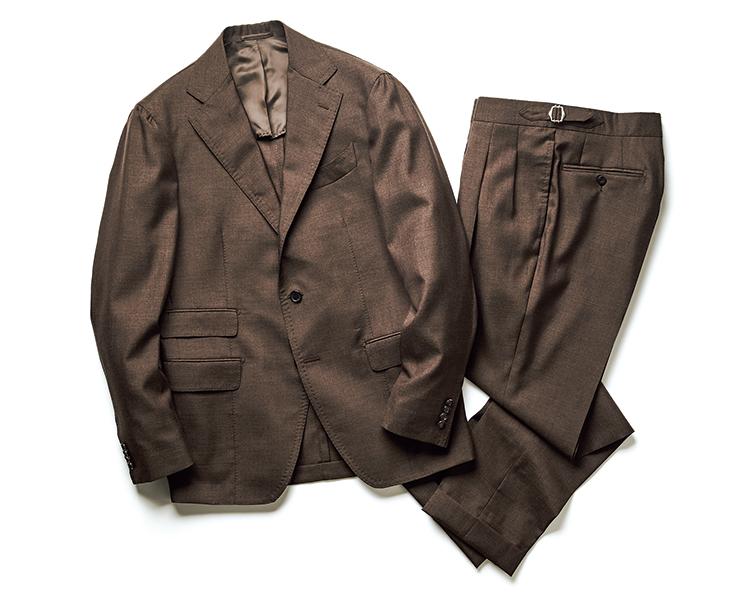 ティト アレグレットの モヘアシルクスーツ