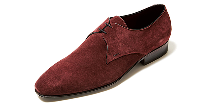ジョセフ マランジュのカラースエード靴